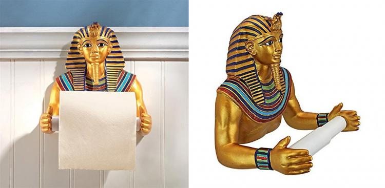 Funny King Tut Toilet Paper Holder