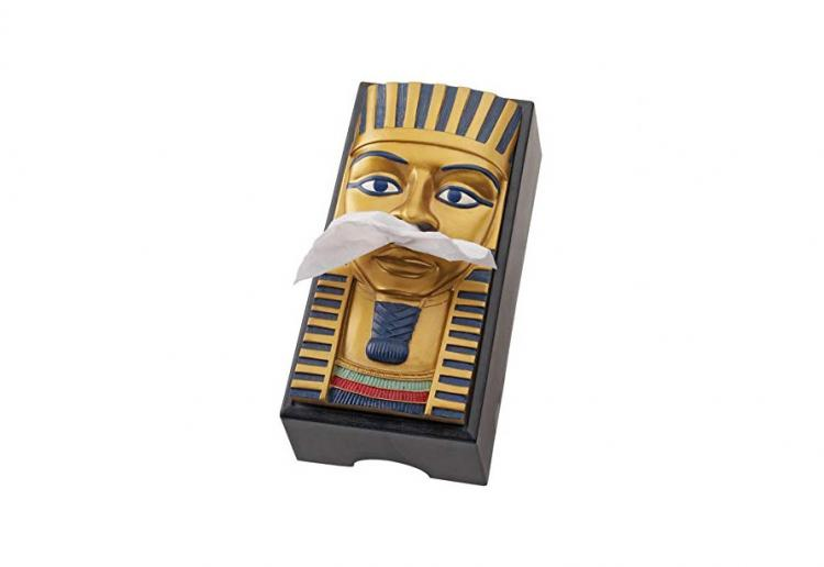 King Tut Tissue Box Holder