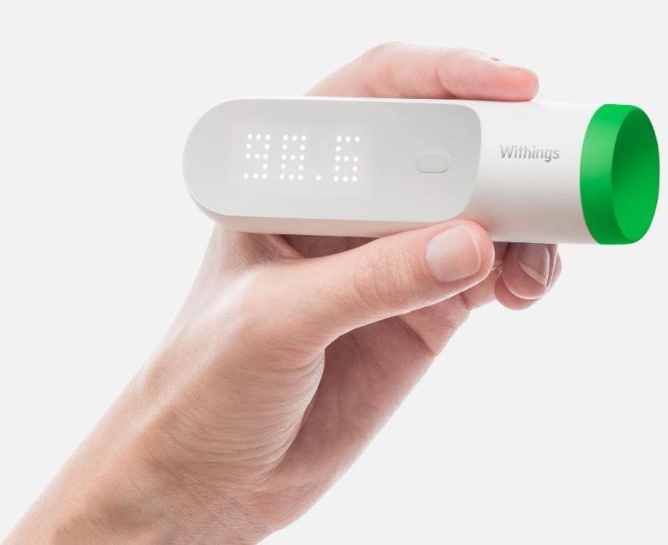 Thermo Takes Your Temperature On Your Temple