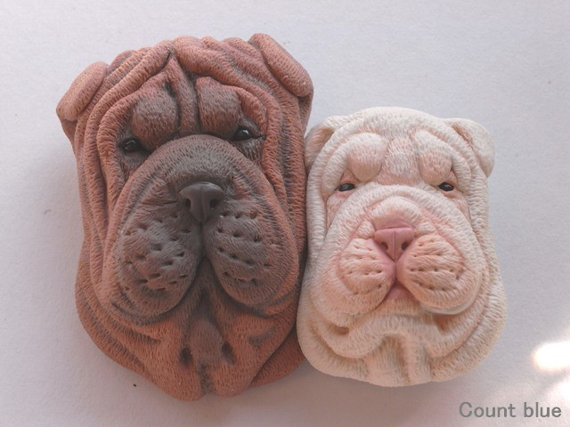 Cute Animal Rings Hug Your Fingers - Wrinkly Dog