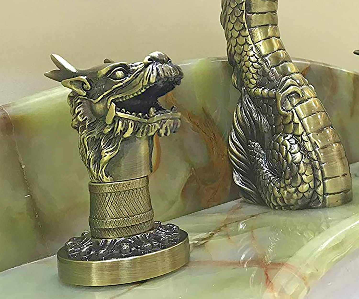 Dragon Faucet - Luxurious Dragon Bathroom Fixture
