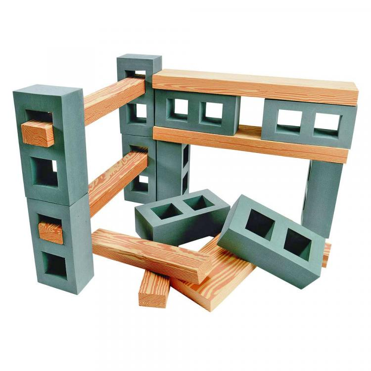 Foam Cylinder Blocks and Planks