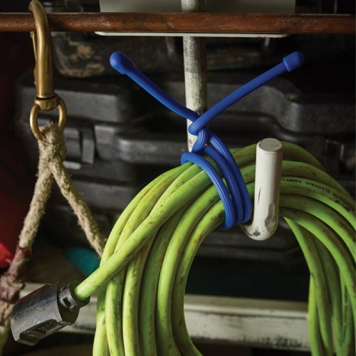 Giant Rubber Twist Ties - Reusable Gear Twist Tie