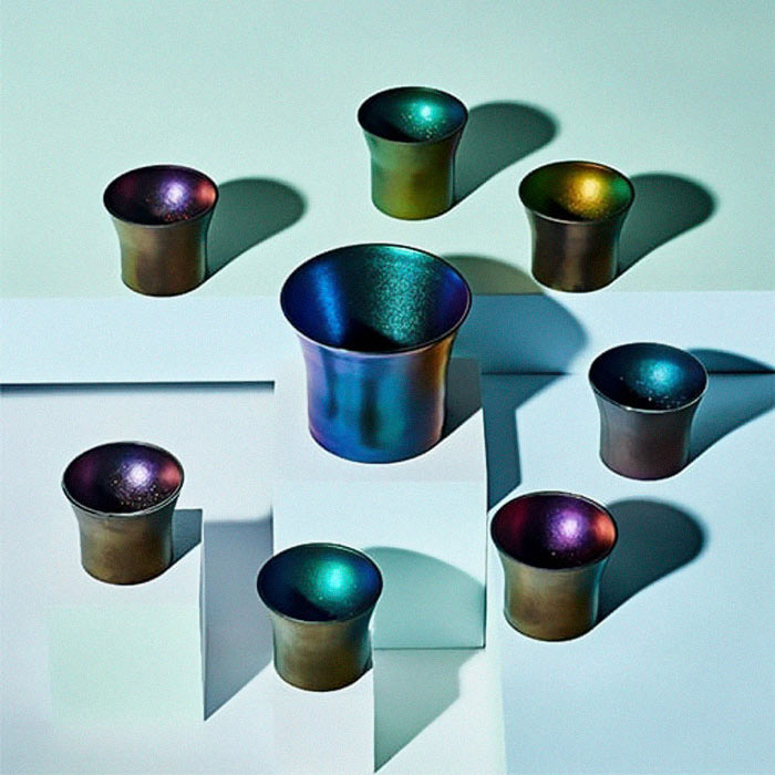 Japanese Cups Turns Into Galaxies When Clear Liquid Is Added - Space Galaxy Shot Glasses