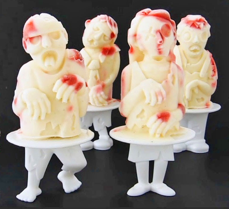 Zombie Popsicles Molds