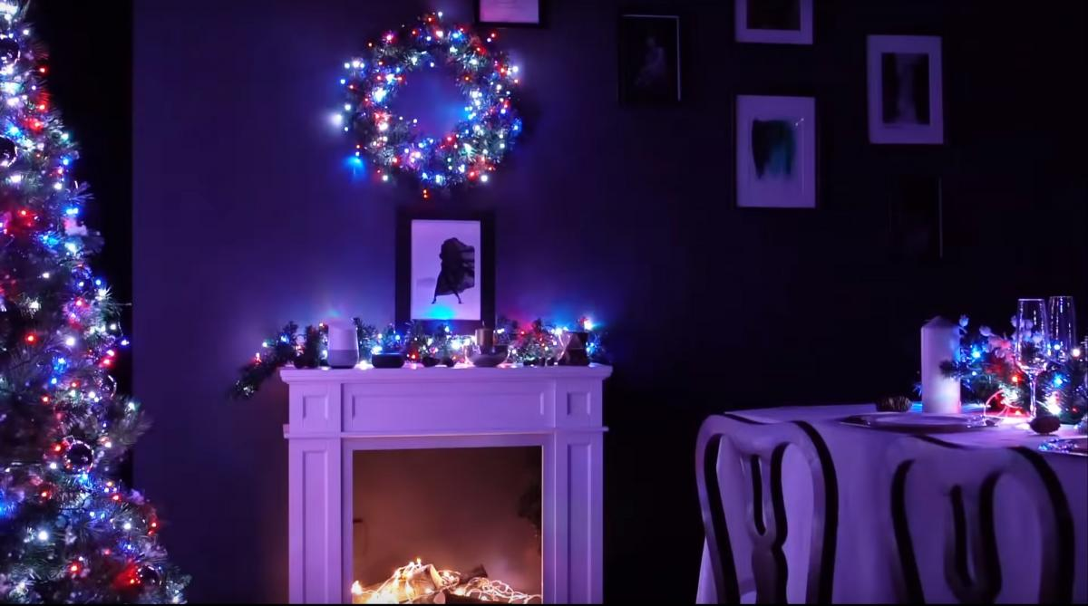 Twinkly Smart Chrismas Decorations Lighting - Smart Phone Connected LED Christmas String Lights