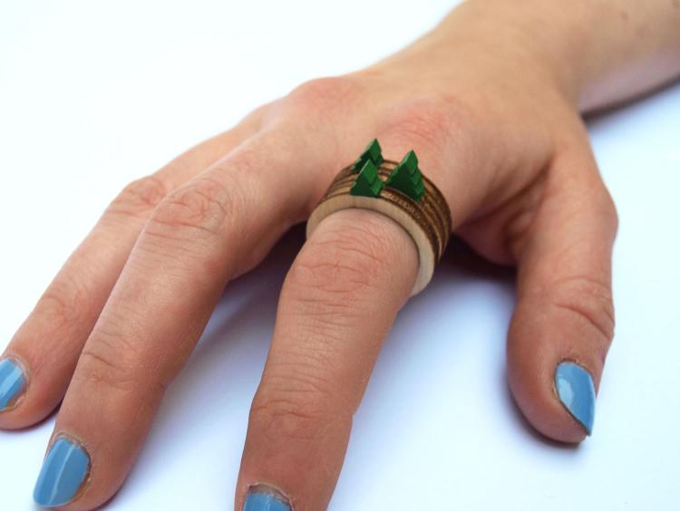 Stackable Landscape Rings