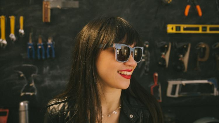 Mosevic - Sunglasses Made From Denim