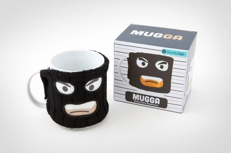 Thief With Ski Mask Coffee Mug