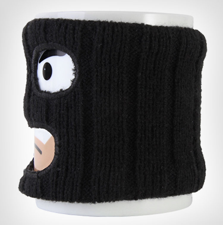 Mugga Mug Coffee Mug With Ski Mask