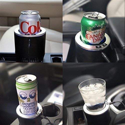 2-in-1 Car Cup-holder Beverage Cooler and Warmer - Mini car cup holder fridge
