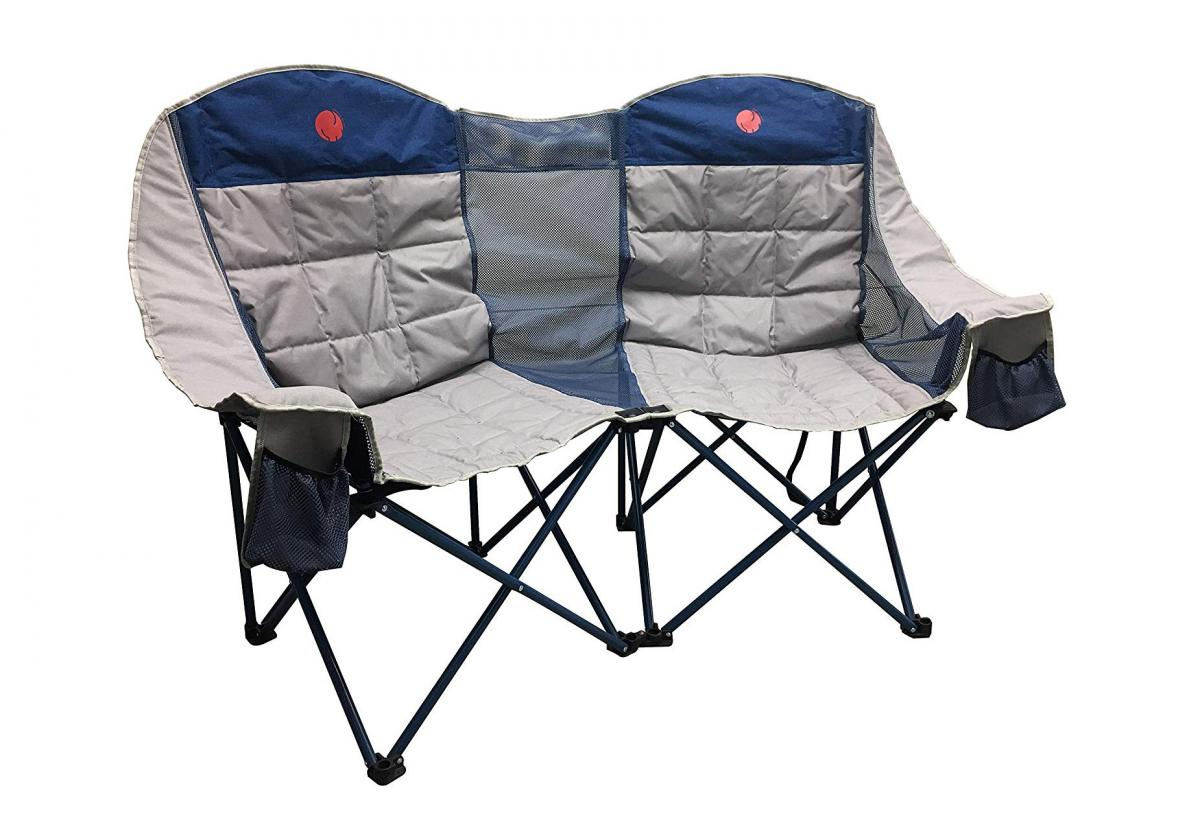 3-person Camping Chair - Folding outdoor camping couch - folding camping sofa