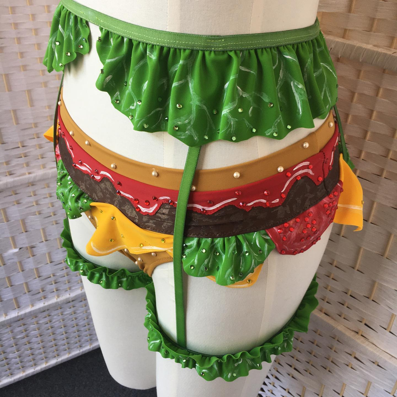 Cheeseburger Lingerie Set Turns You Into a Sexy Cheeseburger