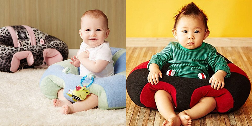 This Cute Baby Sofa Chair Helps Teach Your Infant To Sit Up and ...