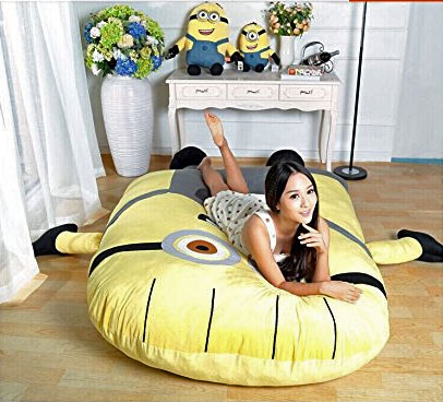 Despicable Me Minion Sofa Bed With Arms That Hug