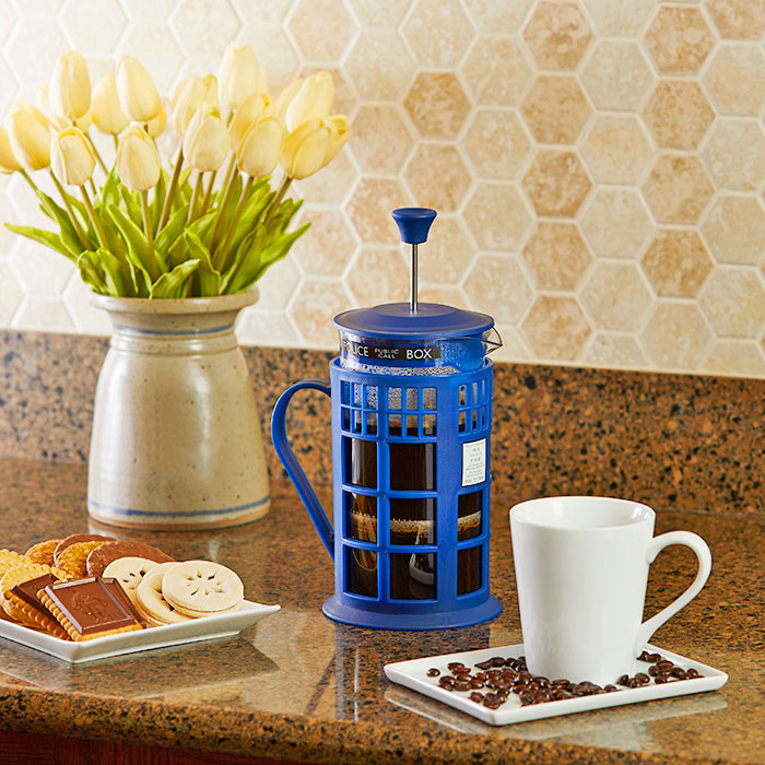 Doctor Who Coffee Press
