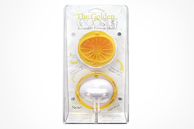 Golden Goose Egg Spinner - In Shell Egg Scrambler