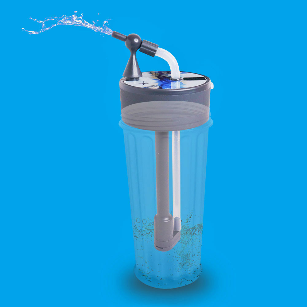 Electric Straw Bottle