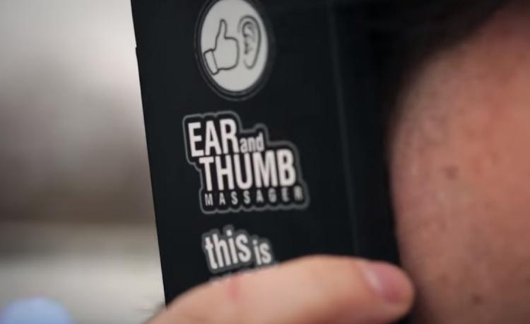 Fake Phone Ear and Thumb Massager