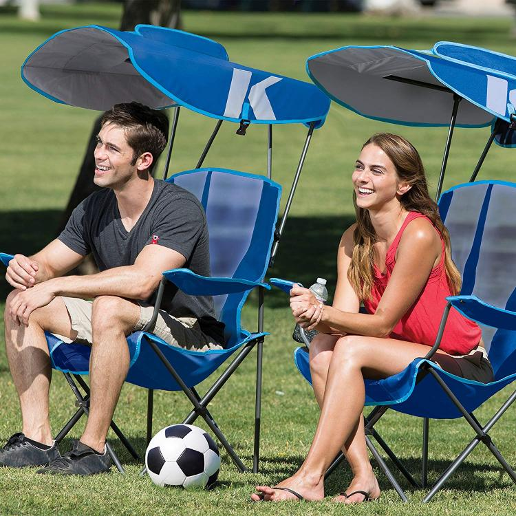 Kelsyus Original Canopy Chair With retractable sun guard