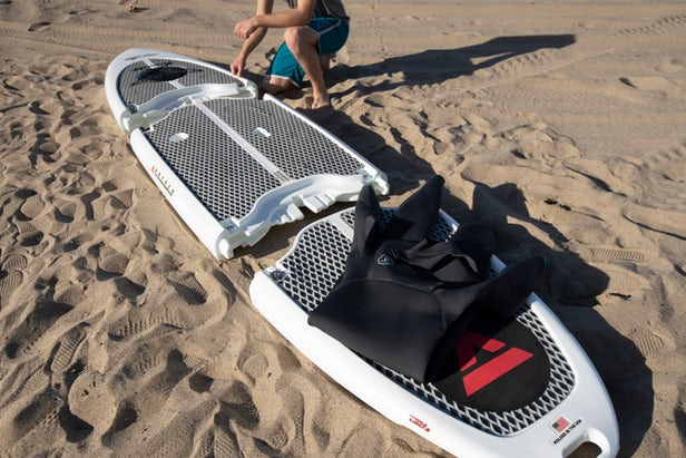 Easy Eddy Modular SUP Paddle Board - 3-piece connecting paddle board
