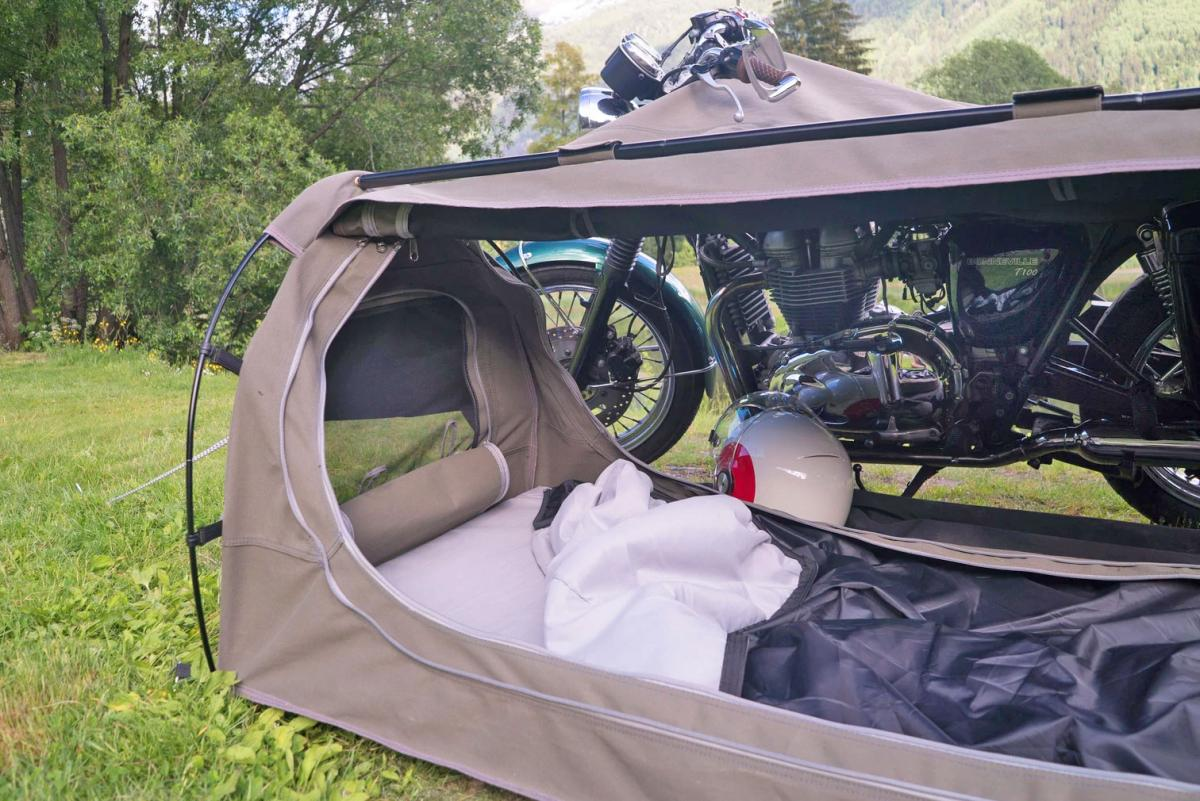 Goose Motorcycle Tent