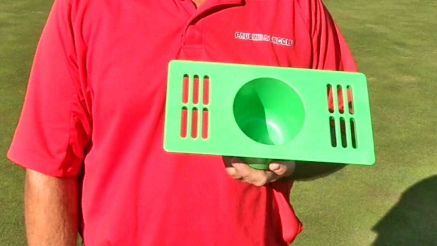 Puttacup Putting Cup Vent Replacement - Turns your HVAC vent cover into a putting hole