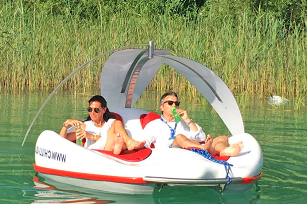Electric Boat Lounger