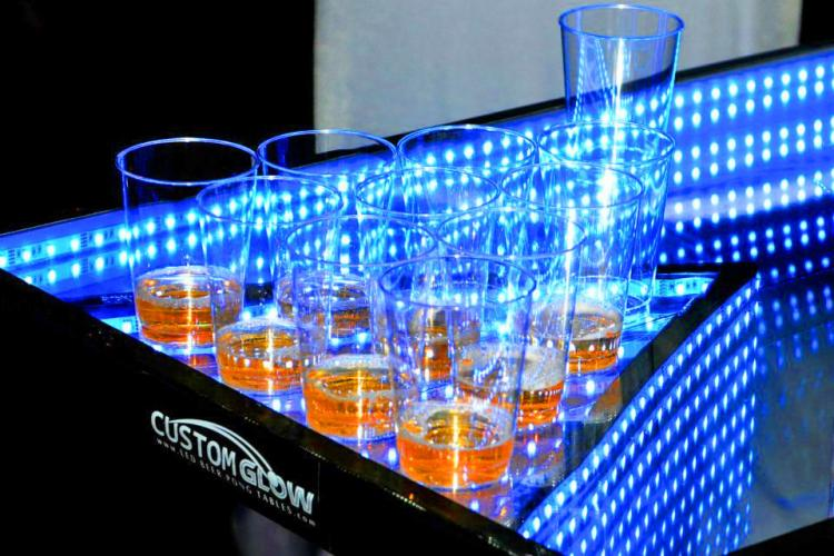 Light-up, Color Changing Beer Pong Table