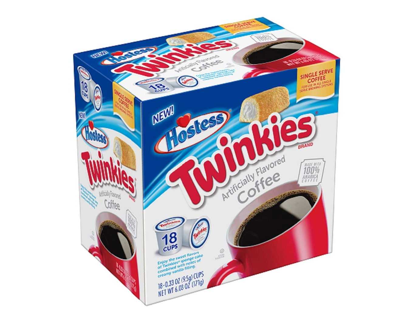 Twinkies Flavored Single Serve Coffee Cups