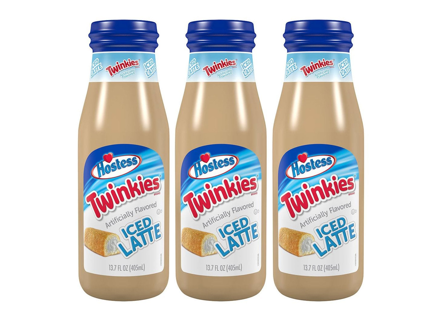 Twinkies flavored Ice Latte bottles