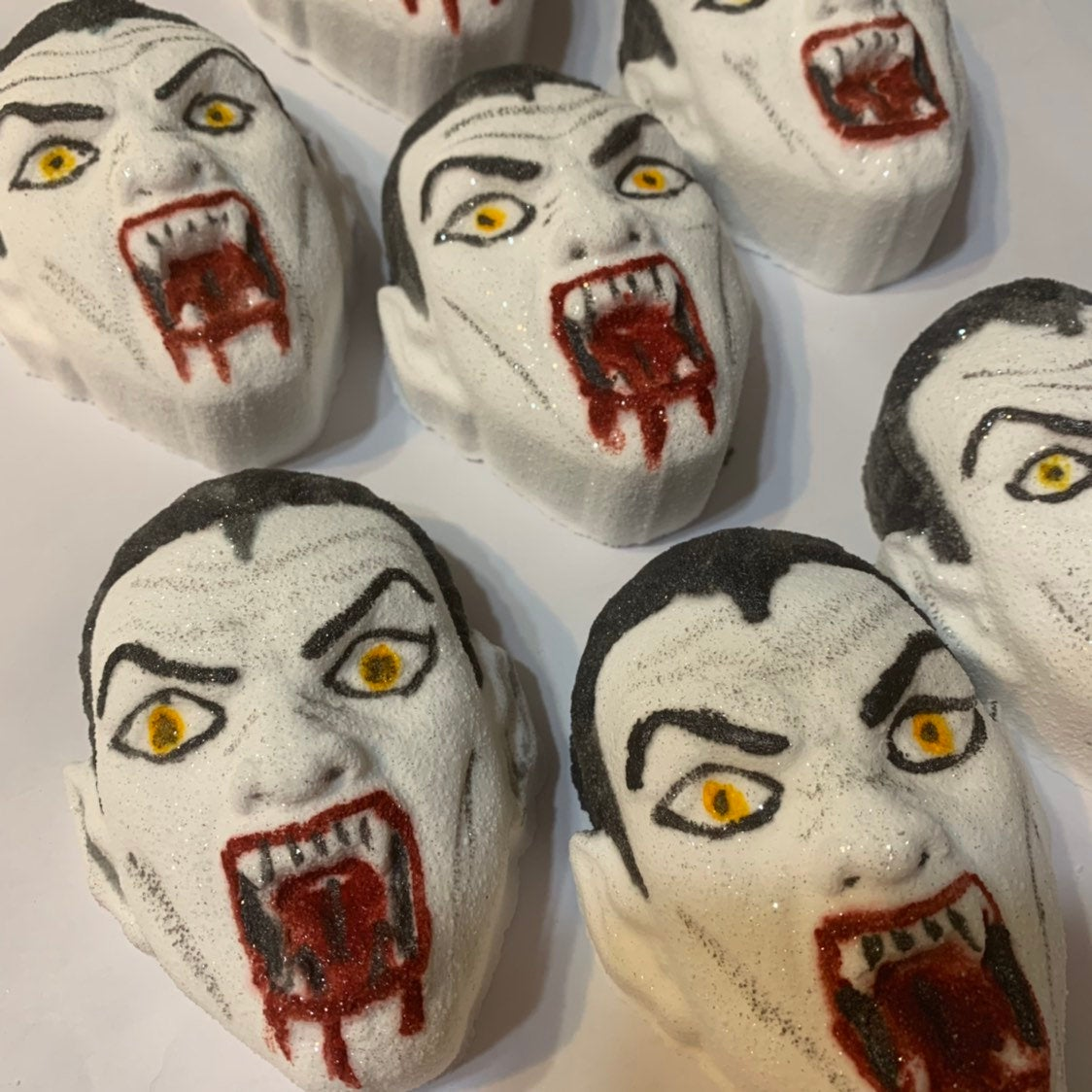 Scary Horror Vampire Bath Bomb - Melting vampire bloody bath bomb