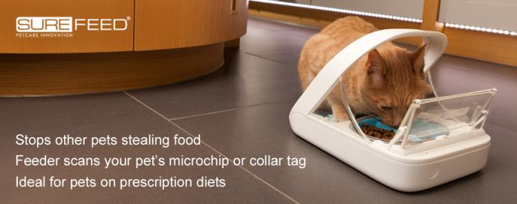SureFeed Microchip Pet Feed Scanning Food Bowl