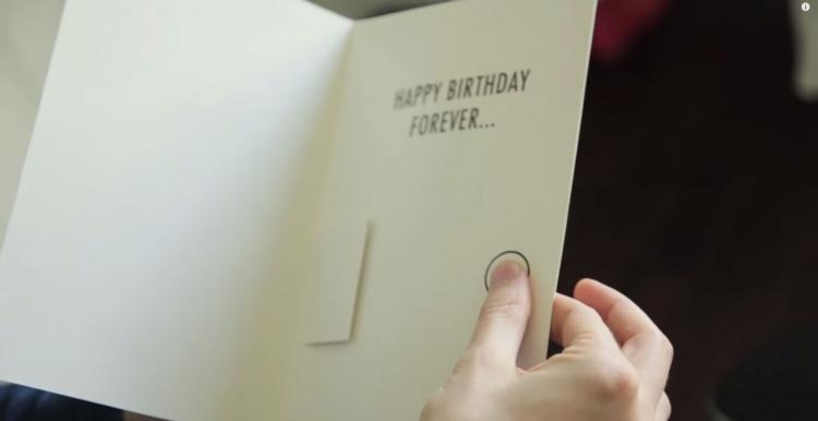 Prank Birthday Card - Won't Stop Playing Music