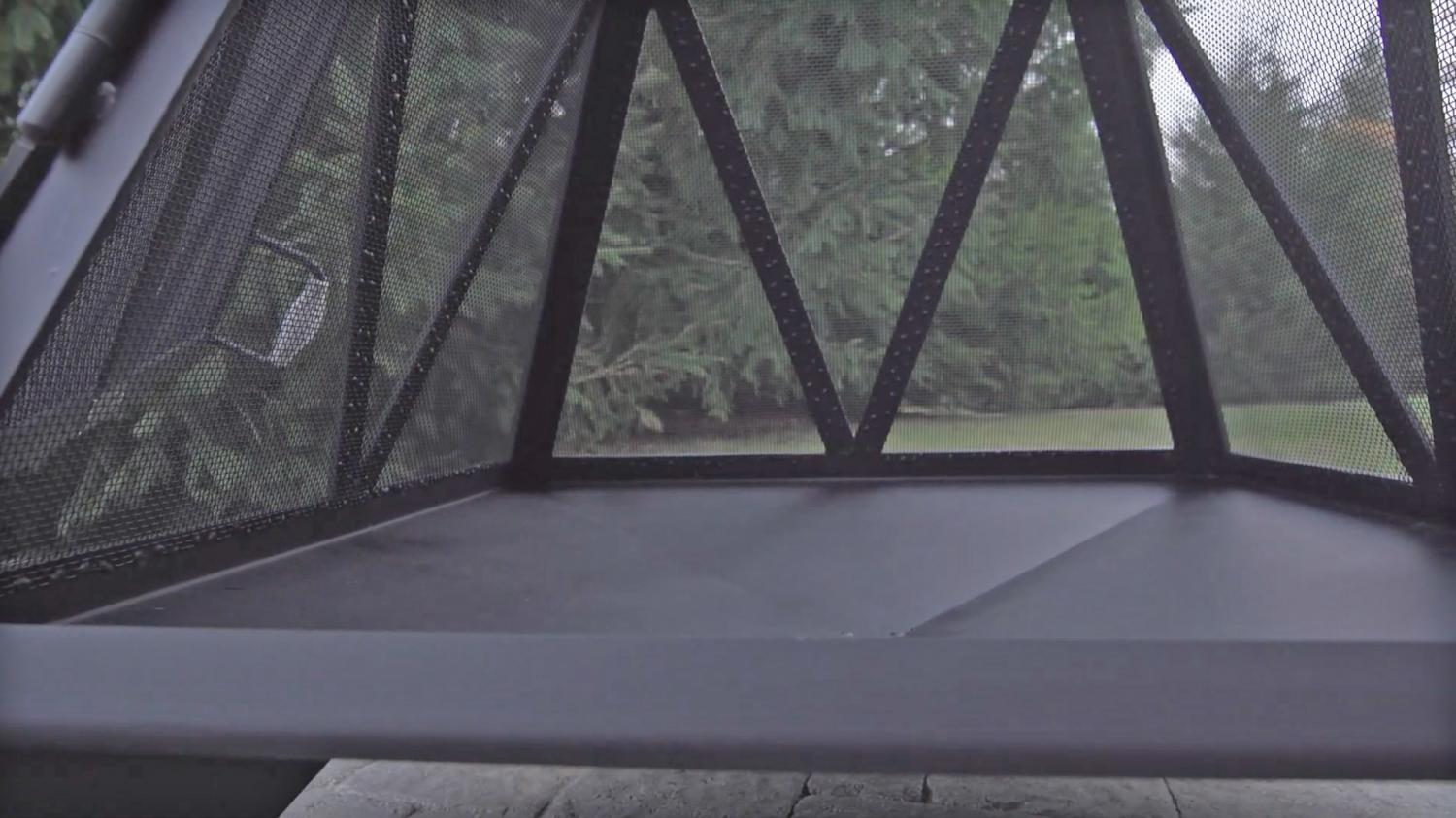Pyramid Bonfire Pit outdoor fireplace