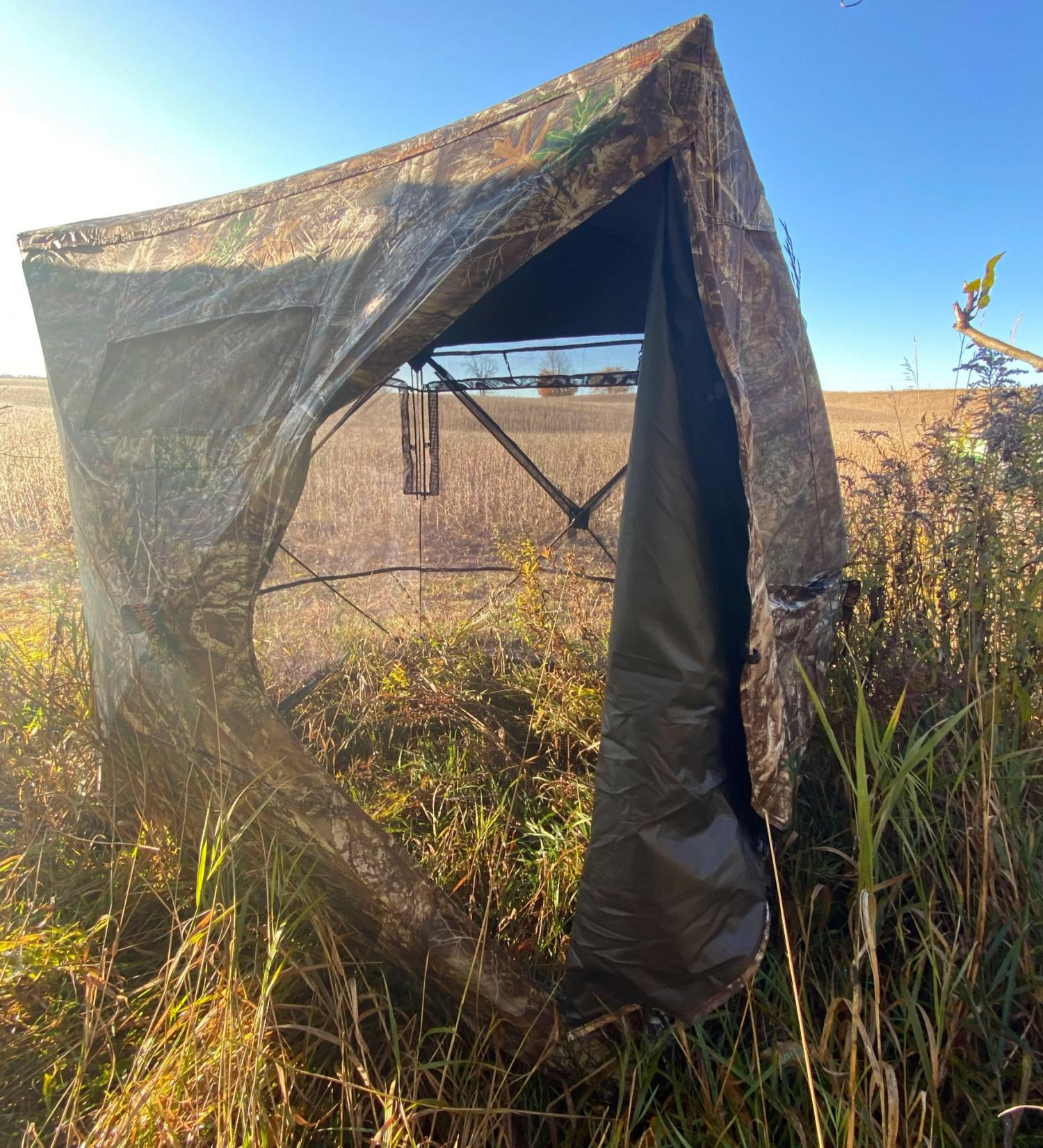 Rhino 180 See Through Hunting Blind - One-way Transparent hunting tent