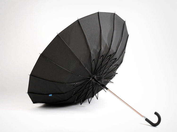 Kisha Smart Umbrella Notifies When Left Behind