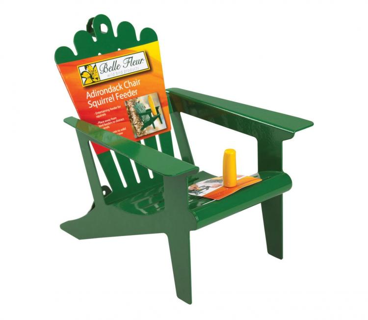 Squirrel Chair Corn Cob Feeder
