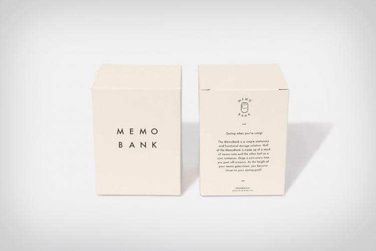 Memo Bank Note Pad Piggy Bank