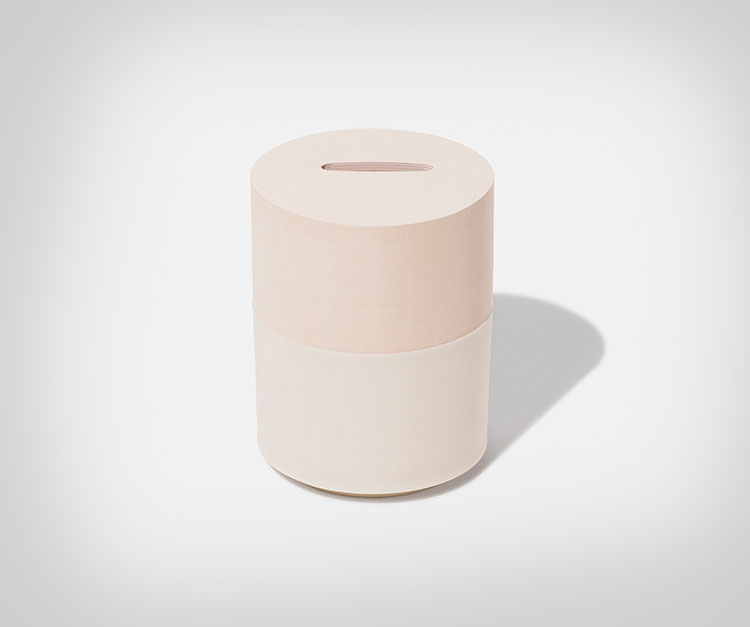 Memo Bank Note Pad Piggy Bank - Peach