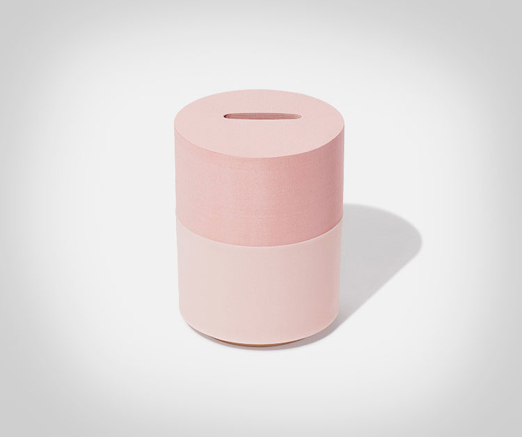 Memo Bank Note Pad Piggy Bank - Pink