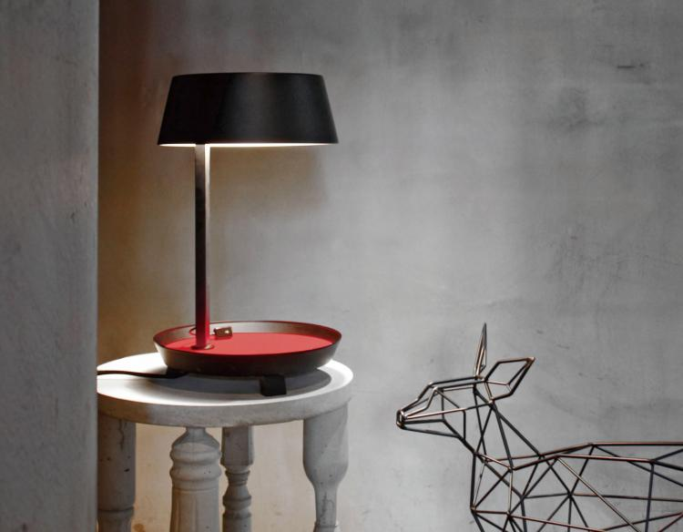 Carry Table Lamp With Phone Charger