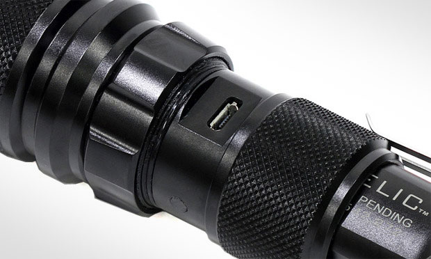 ZeroHour Relic XR Tactical Rechargeable Flashlight