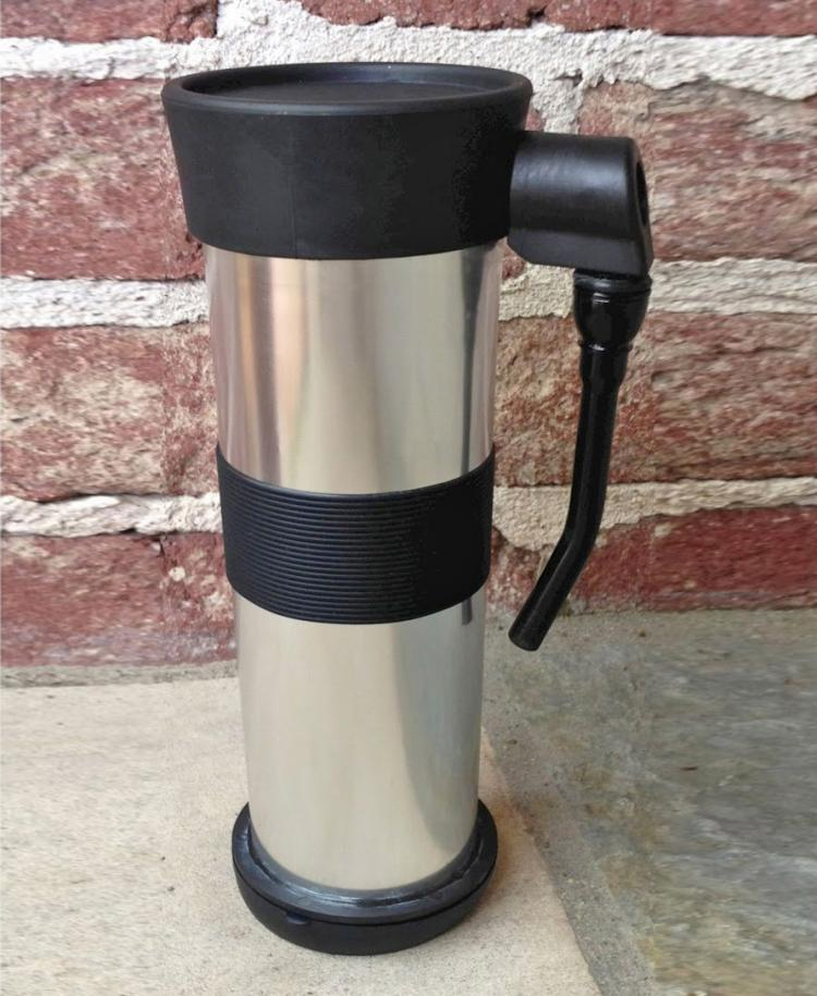 Telescoping Coffee Mug Bong