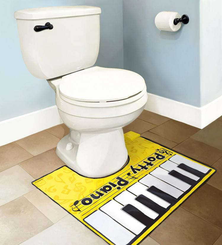 Toilet Foot Keyboard