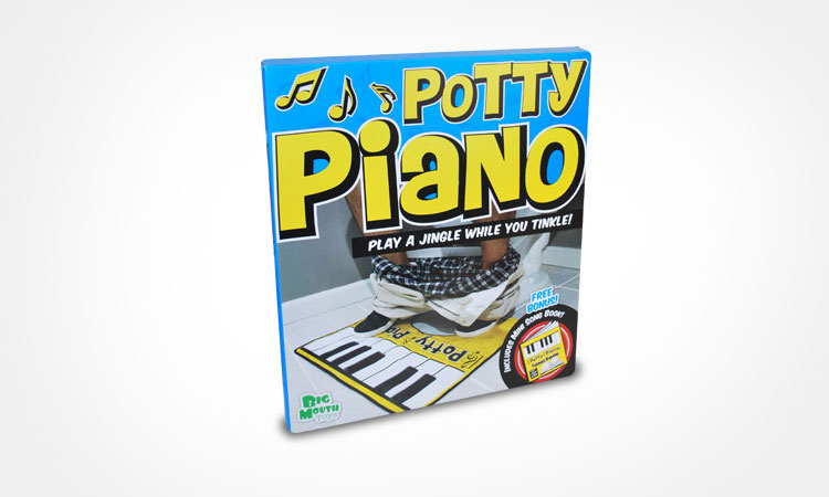 Toilet Foot Keyboard - Toilet piano pooping music maker