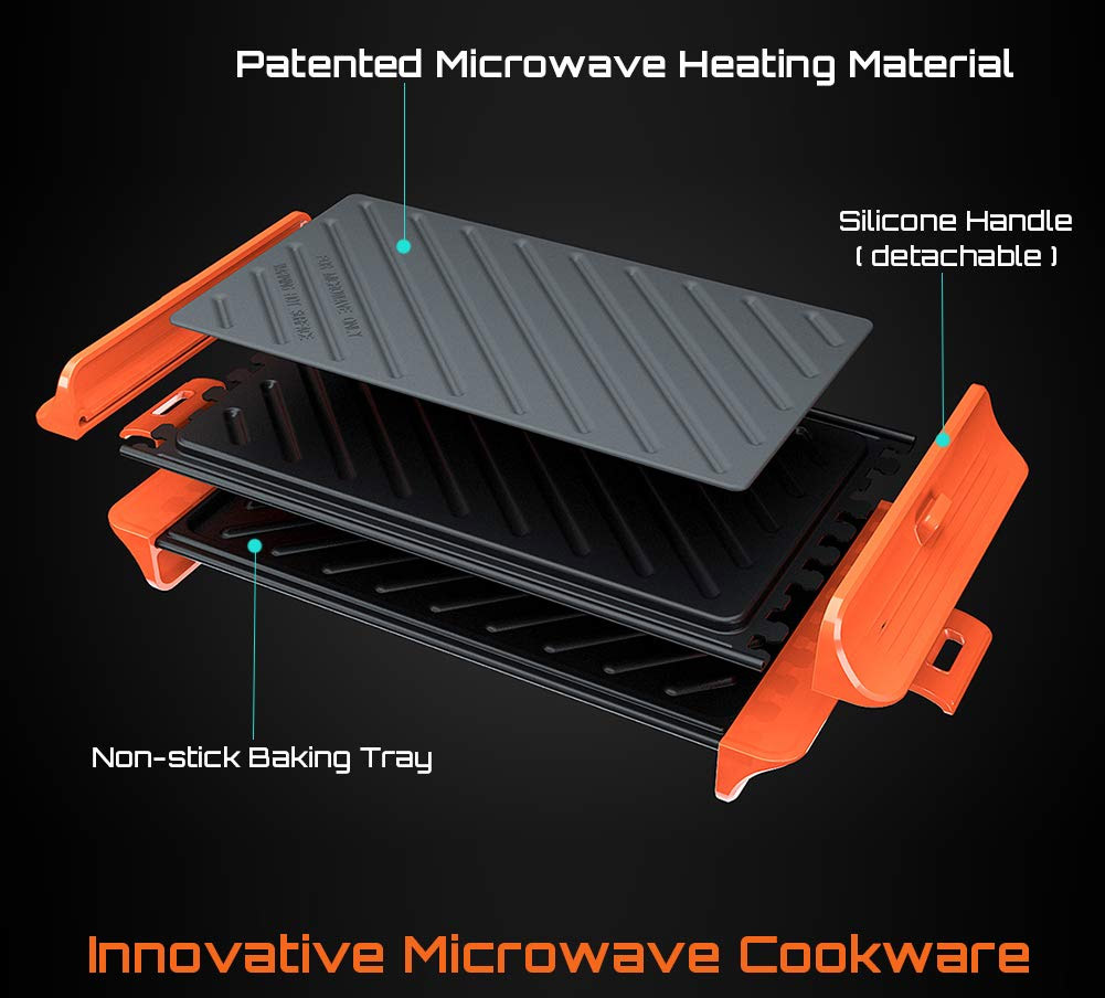 Microwave Grilling Tool - Unique Microwave cooker make grilled cheese sandwiches in microwave