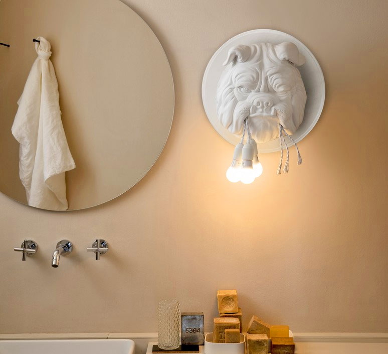 Bulldog Wall Sconce