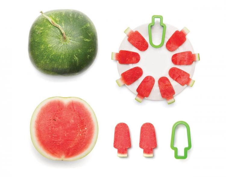 Watermelon Popsicle slicer - Watermelon Popsicles - Clean watermelon snacking