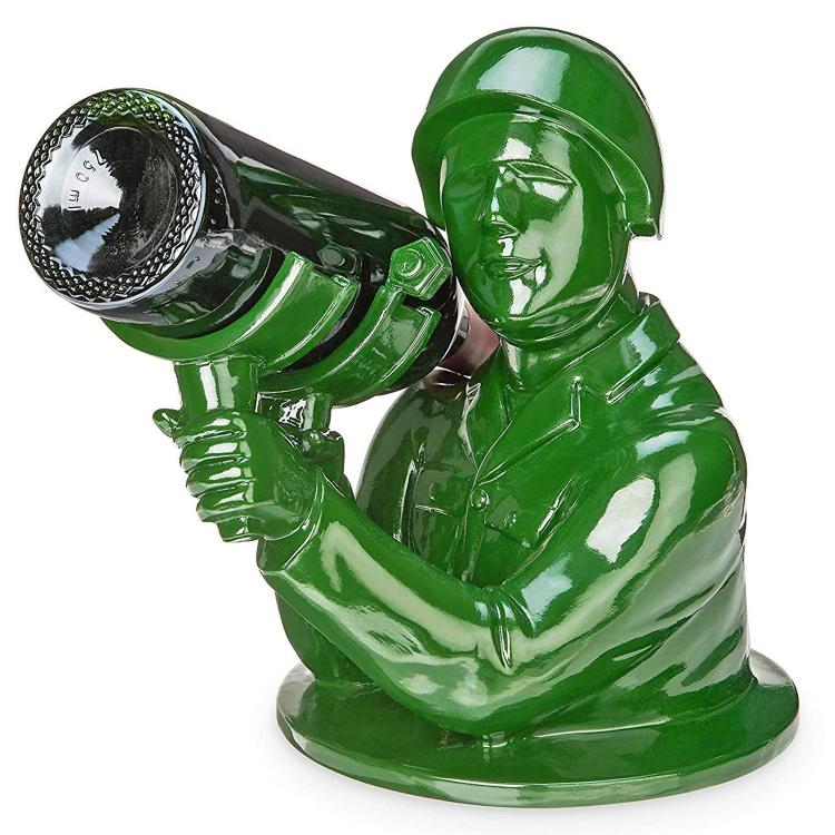 Army Man Wine Bottle Holder